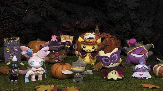 Get Spooky with the Pokemon Center's Eerie Delights Line