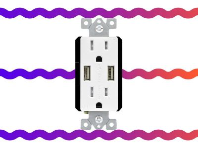 Transform your standard outlet into one with 2 USB ports for $16