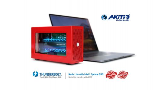 Akitio partners with Intel for new super fast Optane-powered Thunderbolt 3 SSD enclosure