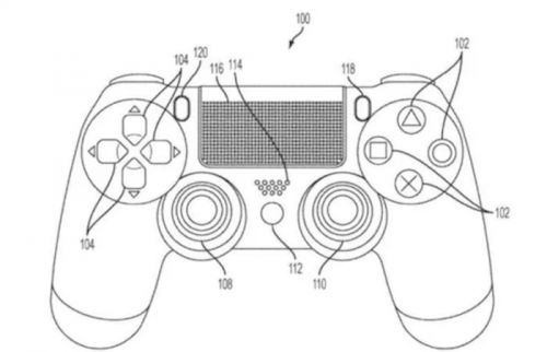 Sony patents PlayStation controller that features a touchscreen