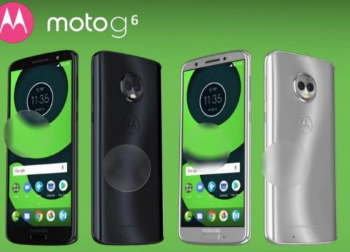 It seems the Moto G6 lineup will continue the trend of shiny backs