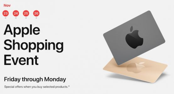 Apple's Black Friday Event Begins in US, Offers Up to $200 Apple Store Gift Card With Select Products