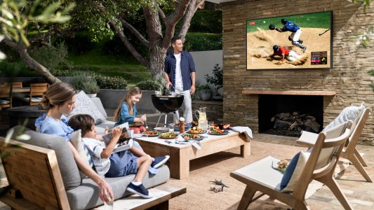 Samsung launches new 75-inch outdoor TV for those sunny days