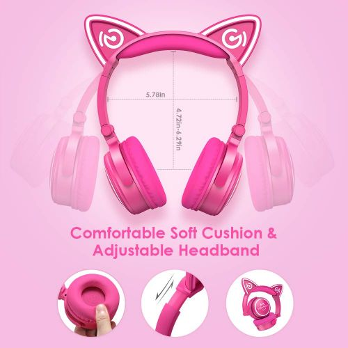 MindKoo's Cat-Style Wireless Headphones Priced At $26.40 W/Coupon
