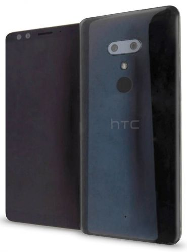 HTC U12+ leaked photo and hardware specs, 😮 face on the back