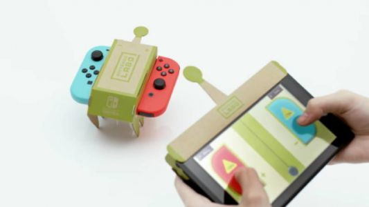 Nintendo Labo Replacement Parts Won't Cost An Arm Or A Leg