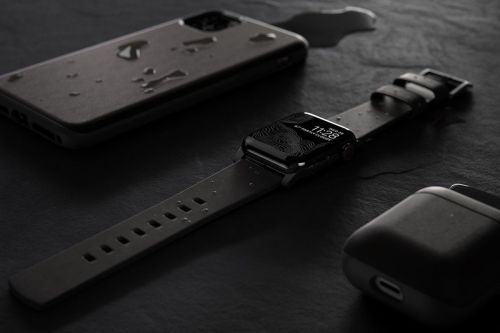 Nomad launches waterproof leather straps for Apple Watch