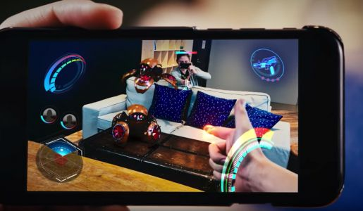 Sony's futuristic take on AR shows depth-sensing taken to another level