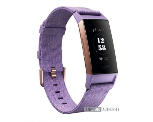 Fitbit Charge 3 Leaks In Hi-Res Renders, Two Colors Revealed