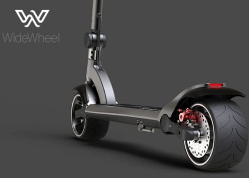 WideWheel Kickboard Electric Scooter Available From $298