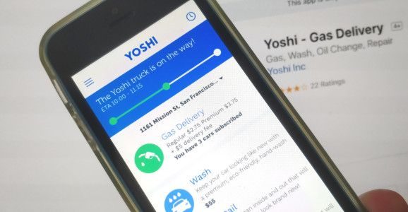 GM and ExxonMobil lead $13.7 million investment in on-demand car care startup Yoshi