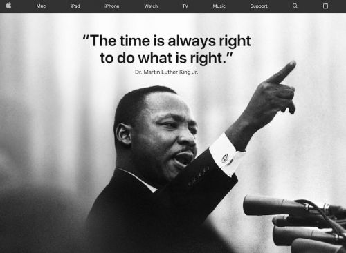 Apple and Tim Cook Honor the Life of Dr. Martin Luther King, Jr