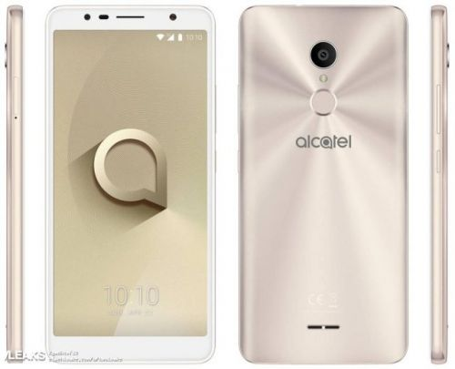 New press render leaks show off the upcoming Alcatel 3C