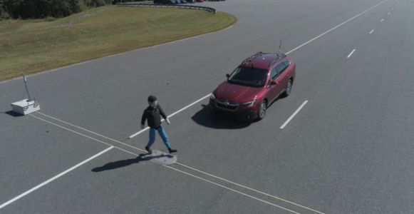 Six cars aced new pedestrian detection tests
