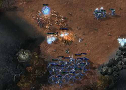 An AI crushed two human pros at StarCraft-but it wasn't a fair fight