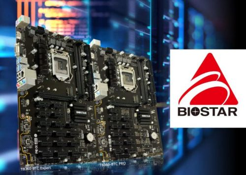 New Biostar Professional Cryptocurrency Mining Motherboards Introduced