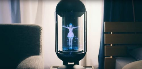 Line's holographic Gatebox robot hints at the virtual assistants of the future