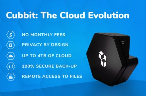 4TB Cubbit free cloud storage has no monthly fees