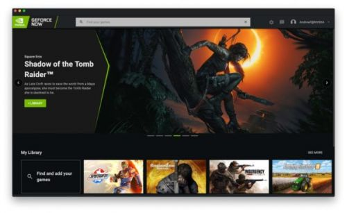 NVIDIA Redesigns GeForce NOW UI To Focus On Your Game Library