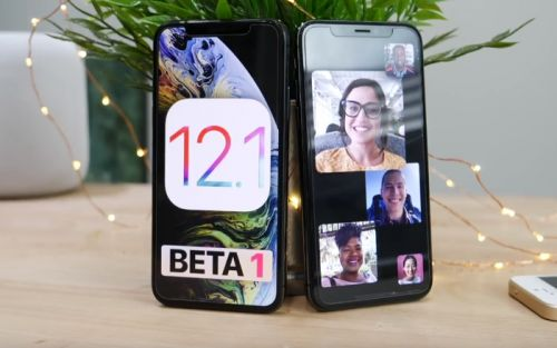 Whats New in iOS 12.1 Beta 1