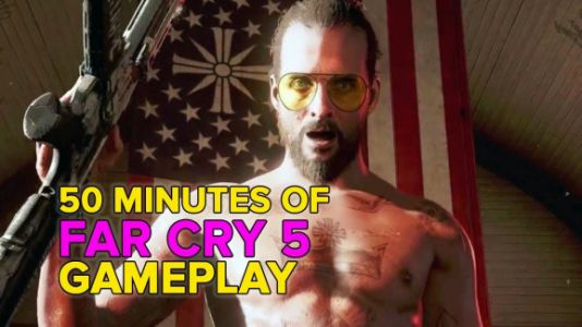 Far Cry 5's intro is cinematic and fast-paced