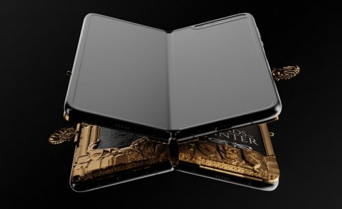 This Custom Gold Samsung Galaxy Fold Is Exclusively For GoT Fans