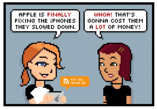 Comic: Fixing Slow iPhones the Most Apple Way Possible