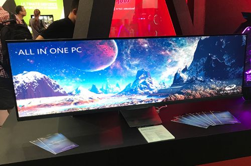 Colorful Demonstrates a 49-Inch All-in-One PC