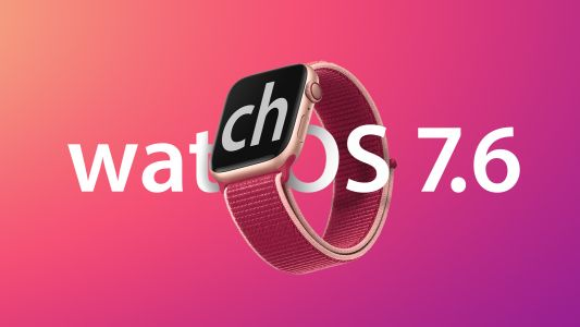 Apple Seeds Fourth Beta of watchOS 7.6 to Developers