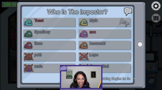 AOC's Twitch streaming debut attracts over 435,000 Among Us viewers