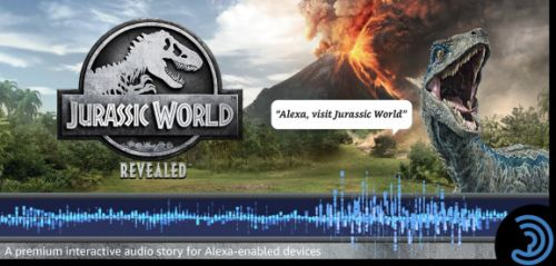 Jurassic World: Revealed is an Amazon Alexa game you play with your voice