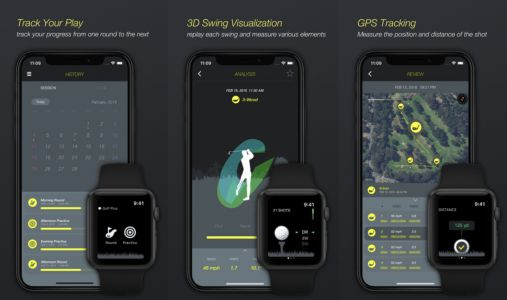 Golf Plus Apple Watch app aims to replace expensive golf swing analyzer gear