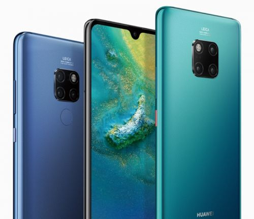 New Huawei Mate 20 smartphones get official