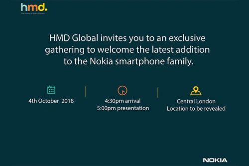 Nokia Event Scheduled For Oct. 4, Nokia 7.1 Plus Coming?