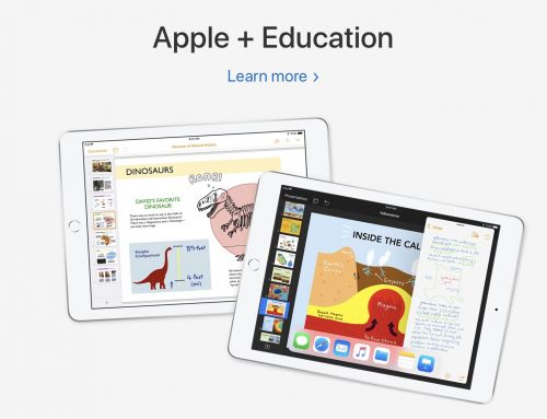 Apple Made Up Ground in Education Yesterday, But Still Has Plenty of Homework- Part 1