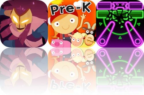 Today's Apps Gone Free: Towaga, Animal Math Games and Pinball Breaker Forever