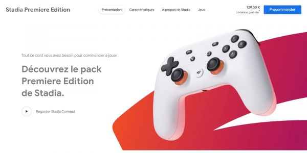 Stadia Founder's Edition sold out in Europe, Google adds 'Premiere Edition'