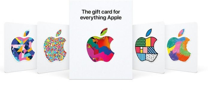Apple's new gift cards now work in Apple Stores and in the App Store