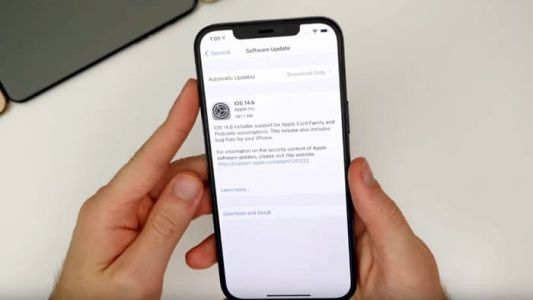 Here is another look at iOS 14.6