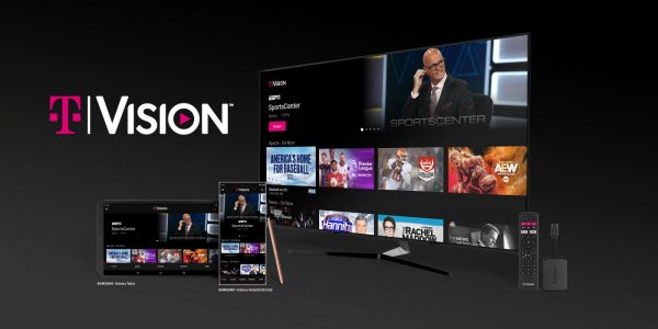 T-Mobile's new 'TVision' offers live TV for $40/month, optional Android TV dongle
