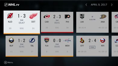BAMTECH Launches Official NHL App On The Fire TV Platform
