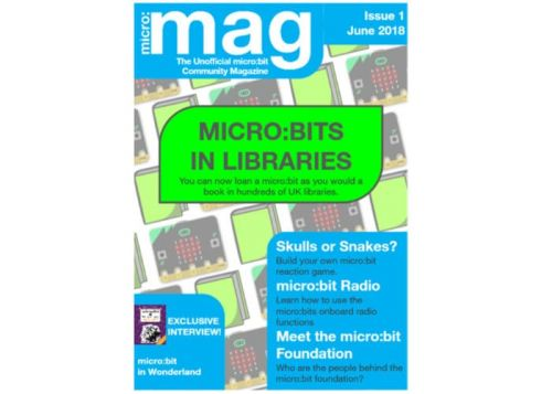 Micro:mag Unofficial Micro:bit Community Magazine Now Available