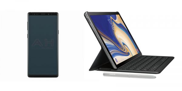 Samsung Galaxy Note 9 and Galaxy Tab S4 show up in new alleged renders