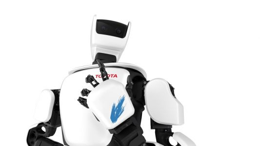 Toyota's new humanoid robot can be controlled remotely via 5G