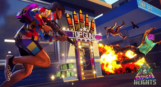 Radical Heights adds an 80s spin to Fortnite and PUBG battle royale games