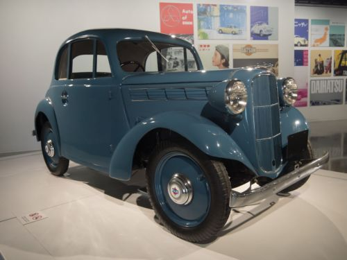 A potted history of Japan's car industry delights at the Petersen Museum