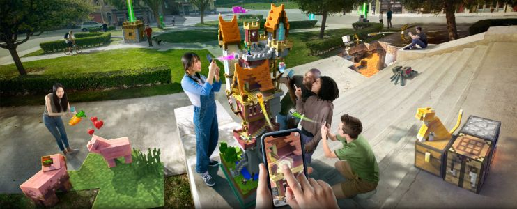 Microsoft Reveals New Augmented Reality Mobile Game 'Minecraft Earth'