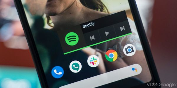 How to replace the Spotify widget for Android