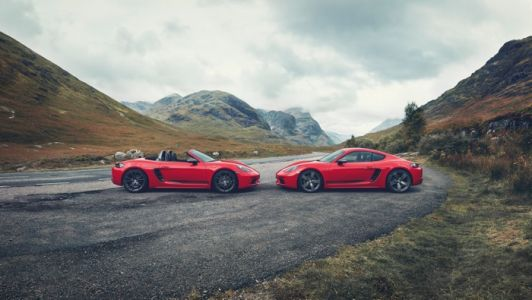 Porsche 718 T Cayman and Boxster announced