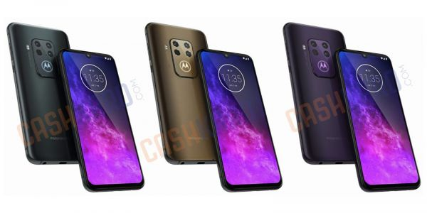 Motorola One Pro press renders unearth quad camera array, multitude of colors
